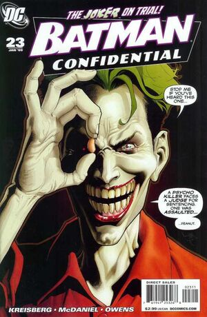Cover for Batman Confidential #23