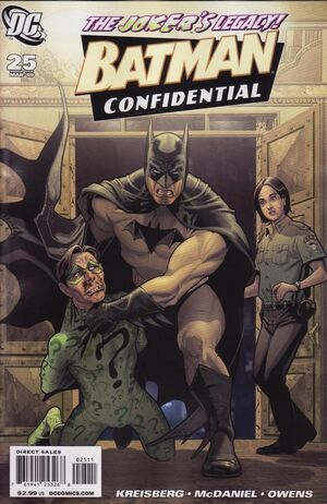 Cover for Batman Confidential #25 (2009)