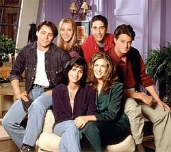 Friends season one cast