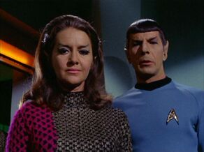 Spock and the Romulan commander