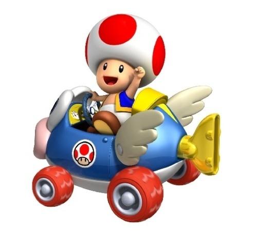 Toad mario kart wii wiki - Mario kart wii personnages et vehicules ...