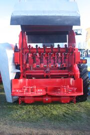 Industrial manure spreader rotor IMG 4599