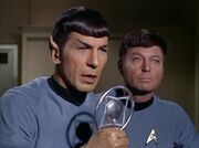 Spock on the radio