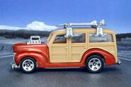 Team Surf's Up '40's Woodie - 7494cf