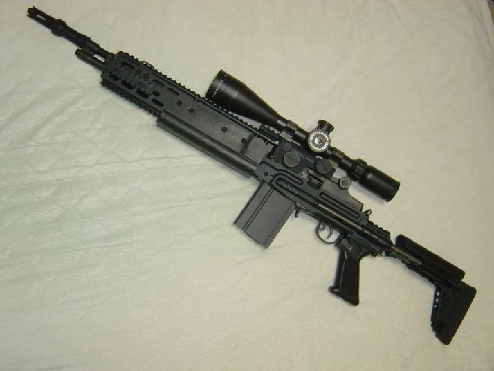 Image - M14 EBR.jpg - The Metal Gear Wiki - Metal Gear ... M14_ebr