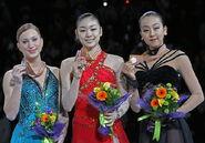 Kim Yu-Na - Figure Skating Wiki - Sasha Cohen, Michelle Kwan