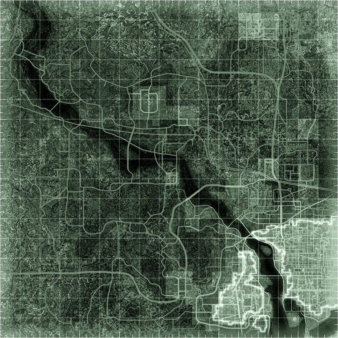 Fallout 3 blank map