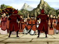 Fire Nation nobles
