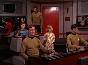 Kids take over the Enterprise