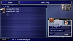 CCFFVII-Shop