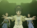 Toph, Katara, and Sokka.png