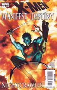 X-Men - Manifest Destiny Nightcrawler Vol 1 1