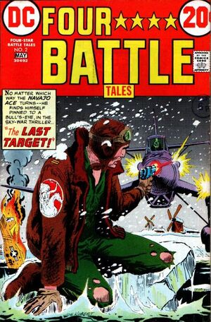 Cover for Four-Star Battle Tales #2