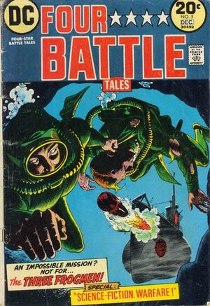 Cover for Four-Star Battle Tales #5