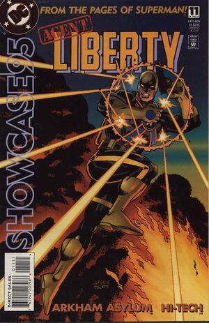 Cover for Showcase &#39;95 #11