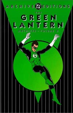 Cover for Green Lantern Archives #2