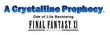 FFXI A Crystalline Prophecy Logo
