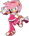 Amy Rose in Sonic Riders