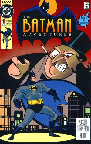 Cover for Batman Adventures #1