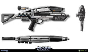 Assault Rifle Concept Art