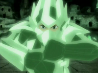 Aang&#39;s crystal armor