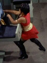 Nedra Rosemond as Uhura