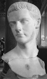 Caligula bust