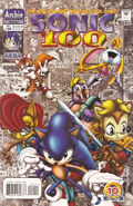 Sonic Issue 100 cover