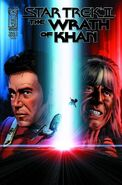 The Wrath of Khan issue 2 cover A