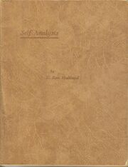 Self-analysis-1951-1ed-cover