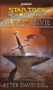 Stone and Anvil audiobook cassette cover