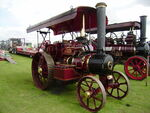 Fowler traction engine sn 15281 MrBlower reg U 4952 at Lincoln 08 - P8170474