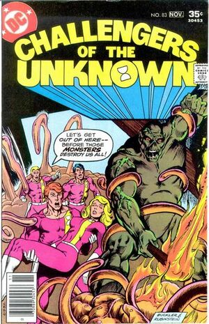 Cover for Challengers of the Unknown #83