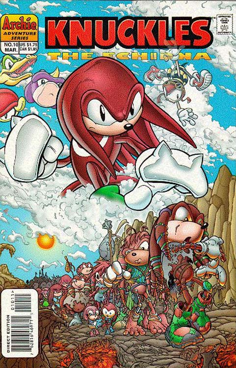 Archie Knuckles The Echidna Issue 10 Mobius