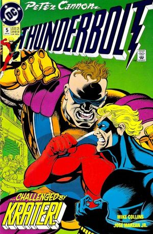Cover for Peter Cannon: Thunderbolt #5