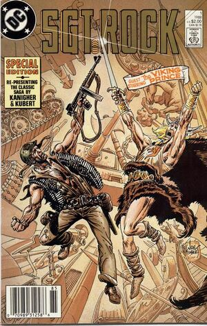 Cover for Sgt. Rock Special #1