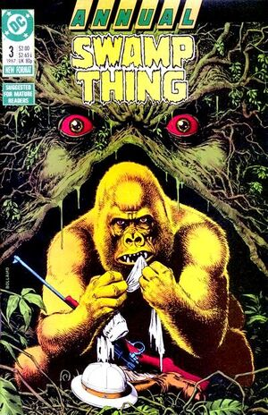 Cover for Swamp Thing Annual #3
