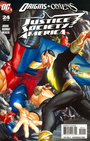 Cover for Justice Society of America #24