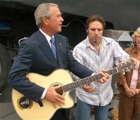 GWBushGuitar08-30-2005