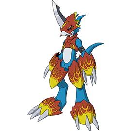 Vorlage Flamedramon