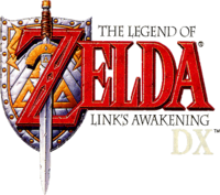 The Legend of Zelda - Link's Awakening DX (logo)