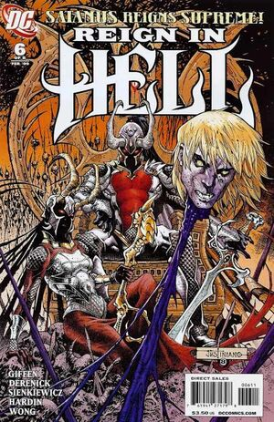 Cover for Reign in Hell #6