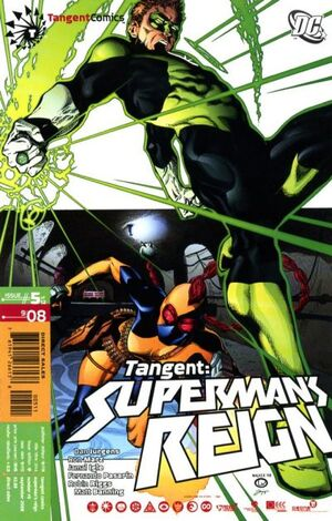 Cover for Tangent: Superman's Reign #5