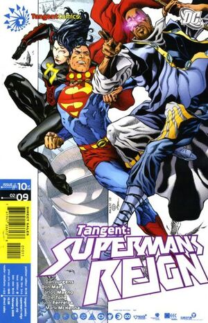 Cover for Tangent: Superman&#39;s Reign #10