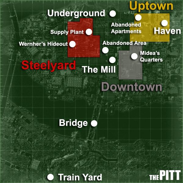 The Pitt map