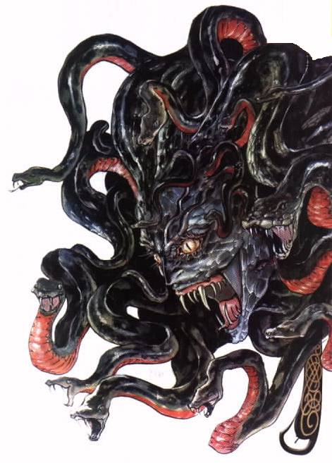 Medusa - Monster Wiki - a reason to leave the closet ...