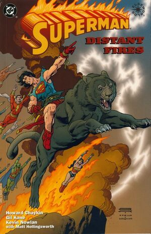 Cover for Superman: Distant Fires #1