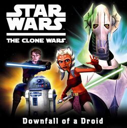 Downfall of a Droid storybook