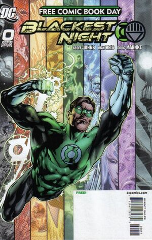 Cover for Blackest Night #0