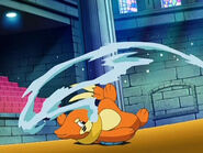 Buizel water gun